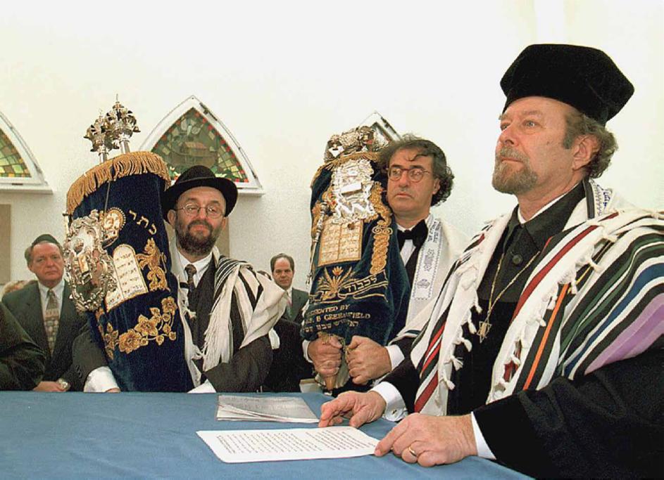 Einweihung der Synagoge 1997